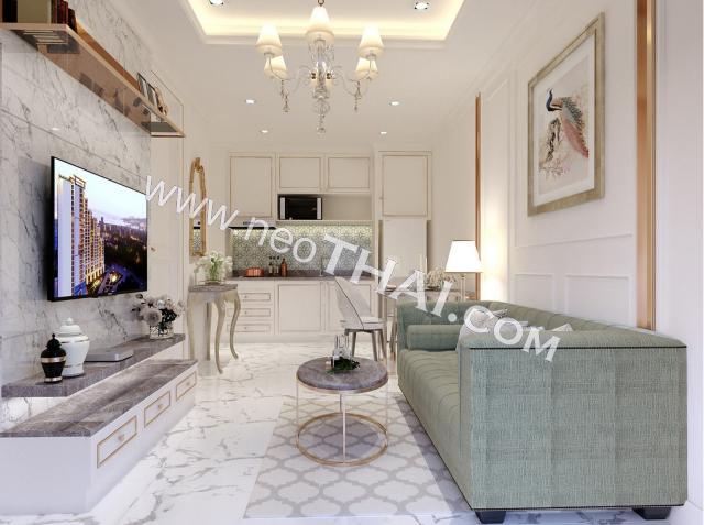Pattaya, Apartment - 33 sq.m.; Sale price - 2.390.000 THB; Empire Tower Pattaya