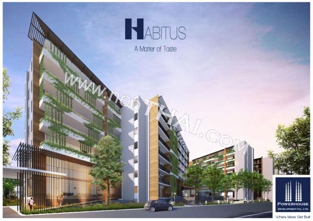 ฮาบิทัส คอนโด Habitus Condominium พัทยา