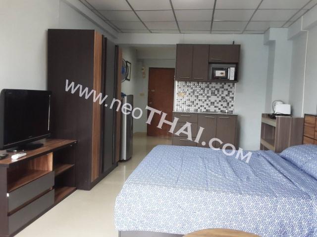Pattaya, Studio - 28 sq.m.; Sale price - 930.000 THB; Jomtien Beach Condominium