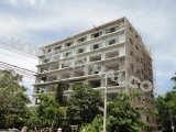 19 September 2011 Jomtien Beach Mountain 5,Pattaya - facade and interior finishing works is being carried out