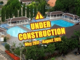 26 March 2011 Jomtien Condotel swimming pool will be closed for renovations during the period of May 2011 until October 2011