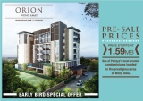 19 October 2013 Orion Wong Amat pre-sales launch. Prices start from 1,599.000