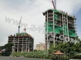 27 April 2011 Reflection Jomtien Beach, Pattaya - construction progress photos taken on job sites
