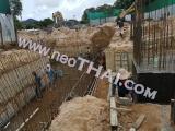 12 กันยายน 2559 Sea Saran Condo  Bangsarey construction site