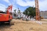 15 October 2014 The Base Condo Central Pattaya Sansiri - construction site foto