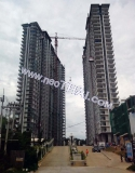 16 June 2015 The Grand AD Jomtien Condominium - construction site