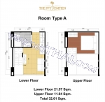 Pattaya, Apartment - 30 sq.m.; Sale price - 2.090.000 THB; The IVY Jomtien