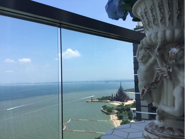 Pattaya Studio 4,725,000 THB - Sale price; The Palm Wongamat