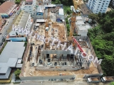 14 Juli The Panora Pattaya  construction site